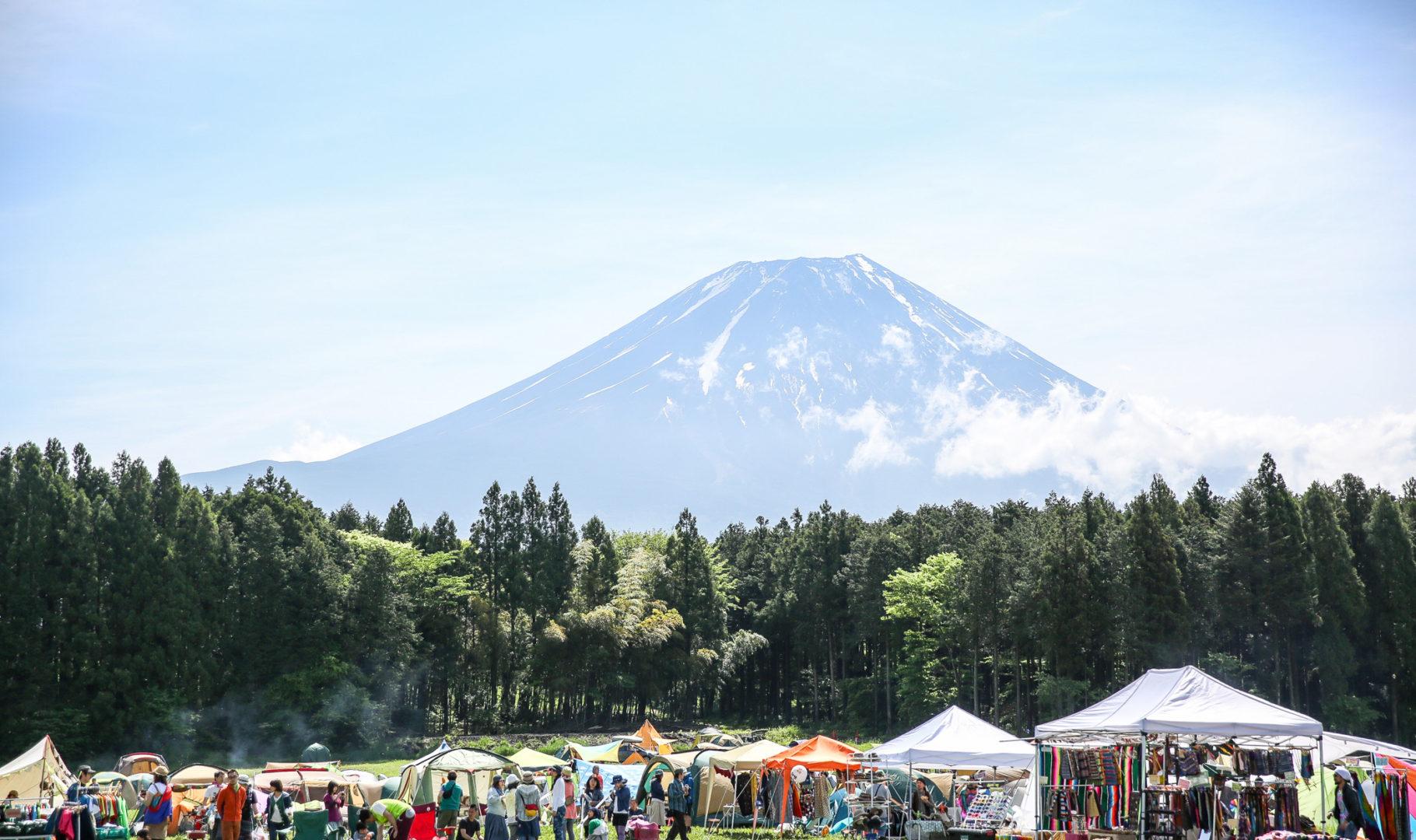 青空camp 2017 朝霧